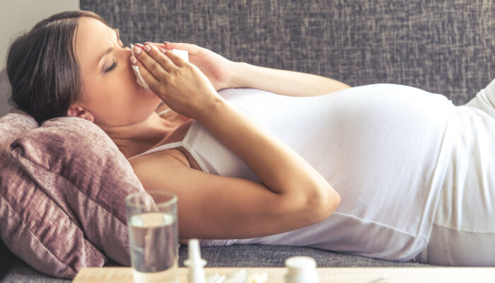 Fighting colds during pregnancy